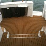 Marine carpet overlocking